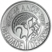 PORTUGAL 5 EURO 2019 - 45 YEARS APRIL 25
