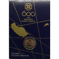 PORTUGAL 2 EURO 2019 - 600TH ANNIVERSARY OF THE DISCOVERY ISLAND OF MADEIRA -C/C