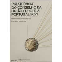 PORTUGAL 2 EURO 2021 - PORTUGUESE PRESIDENCY OF THE EUROPEAN UNION - C/C