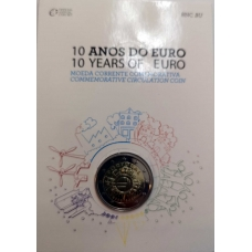 PORTUGAL 2 EURO 2012 - 10 YEARS OF EURO CC
