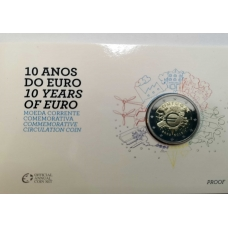 PORTUGAL 2 EURO 2012 - 10 YEARS OF EURO PROOF