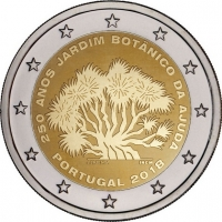 PORTUGAL 2 EURO 2018 - 250TH ANNIVERSARY OF THE AJUDA BOTANICAL GARDEN IN LISBON