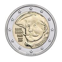 PORTUGAL 2 EURO 2017 - 150 YEARS OF THE BIRTH OF RAUL BRANDAO