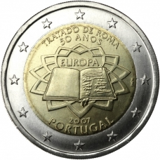 PORTUGAL 2 EURO 2007 - TREATY OF ROME