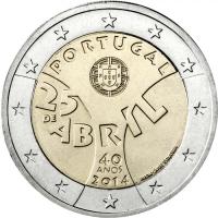 PORTUGAL 2 EURO 2014 - CARNATION REVOLUTION