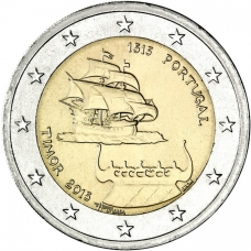 PORTUGAL 2 EURO 2015 - 500 YEARS SINCE THE FIRST CONTACT WITH TIMOR