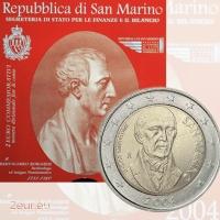 SAN MARINO 2 EURO 2004 - BARTOLOMEO BORGHESI