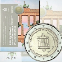 SAN MARINO 2 EURO 2015 - GERMAN REUNIFICATION