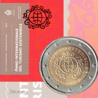 SAN MARINO 2 EURO 2017 - INTERNATIONAL YEAR OF SUSTAINABLE TOURISM