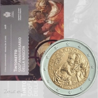 SAN MARINO 2 EURO 2018 - 500TH ANNIVERSARY OF THE BIRTH OF TINTORETTO