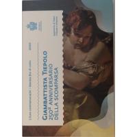 SAN MARINO 2 EURO 2020 - 250TH ANNIVERSARY OF THE DEATH OF GIOVANNI BATTISTA TIEPOLO