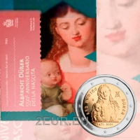 SAN MARINO 2 EURO 2021 - 550th anniversary of the birth of Albrecht Dürer