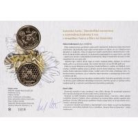 Author's card 5 € - 2021 - Bee honey