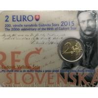 SLOVAKIA 2 EURO 2015 - LUDOVÍT STUR -C/C