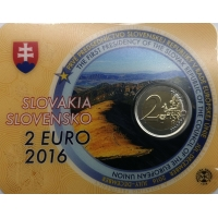 SLOVAKIA 2 EURO 2016 - SLOVAK PRESIDENCY OF THE COUNCIL OF THE EU -C/C