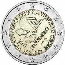 SLOVAKIA 2 EURO 2011 - VISEGRÁD GROUP