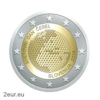 SLOVENIA 2 EURO 2018 - WORLD BEE DAY