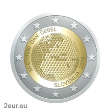 SLOVENIA 2 EURO 2018 - WORLD BEE DAY