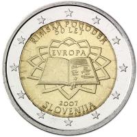 SLOVENIA 2 EURO 2007 - TREATY OF ROME
