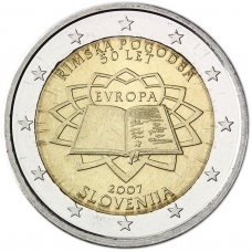 SLOVENIA 2 EURO 2007 - TREATY OF ROME