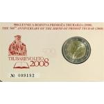 SLOVENIA 2 EURO COIN CARD