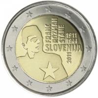 SLOVENIA 2 EURO 2011 - FRANC ROZMAN STANE PROOF