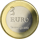 SLOVENIA 3 EURO