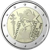 SLOVENIA 2 EURO 2014 - BARBARA OF CELJE
