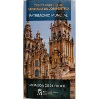SPAIN 2 EURO 2018 - HISTORIC CENTER OF SANTIAGO DE COMPOSTELA - PROOF