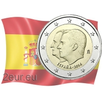 SPAIN 2 EURO 2014 - KING FELIPE VI'S SUCCESSION TO THE THRONE