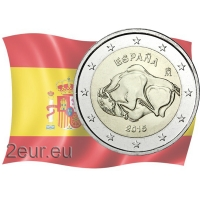 SPAIN 2 EURO 2015 - THE CAVE OF ALTAMIRA