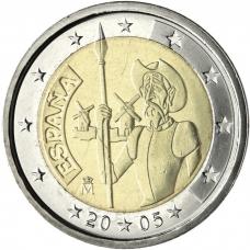 SPAIN 2 EURO 2005 - DON QUIXOTE OF LA MANCHA
