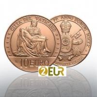 VATICAN 10 EURO 2020 - MICHELANGELO'S PIETA