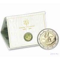 VATICAN 2 EURO 2006 - 5TH CENTENARY OF THE SWISS PONTIFICAL GUARD