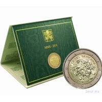 VATICAN 2 EURO 2010 - THE YEAR FOR PRIESTS