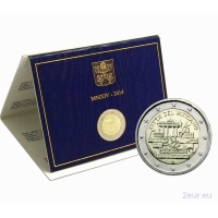 VATICAN 2 EURO 2014 - 25 YEARS SINCE THE FALL OF THE BERLIN WALL