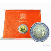 VATICAN 2 EURO 2016 - 200TH ANNIVERSARY OF THE PAPAL GENDARMERIE