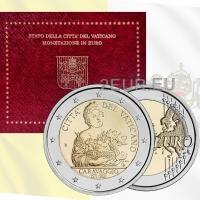 Vatican 2€ BU 2021 - 450th anniversary of the birth of Caravaggio