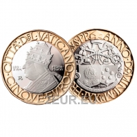 Vatican 5€ 2021 - 5th centenary of the death of Pope Leo X - PROOF