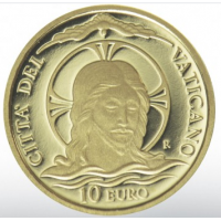 VATICAN 2020 - 10 EURO  - MONETA AUREA