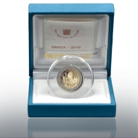 VATICAN 2 EURO 2019 - 90 YEARS OF THE FOUNDATION OF THE VATICAN STATE - PROOF