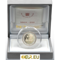 VATICAN 2 EURO 2020 - 100TH BIRTH ANNIVERSARY OF POPE JOHN PAUL II- PROOF
