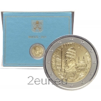 VATICAN 2 EURO 2019 - 90 YEARS OF THE FOUNDATION OF THE VATICAN STATE