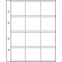 SHEET FOR 2 EURO COINS - HOLDERS