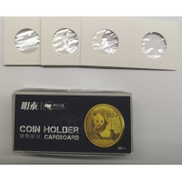 COIN HOLDERS FOR STAPLING