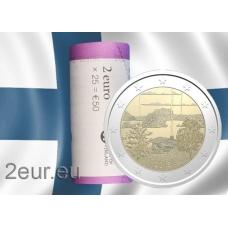 FINLAND 2 EURO 2018 - FINNISH SAUNA CULTURE