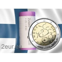 FINLAND 2 EURO 2013 - PARLIAMENT OF 1863 roll