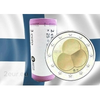 FINLAND 2 EURO 2019 - CONSTITUTION FINLAND 1919 roll