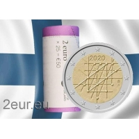 FINLAND 2 EURO 2020 - 100TH ANNIVERSARY OF THE TURKU UNIVERSITY roll