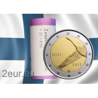 FINLAND 2 EURO 2011 - CENTRAL BANK OF FINLAND 200TH ANNIVERSARYr